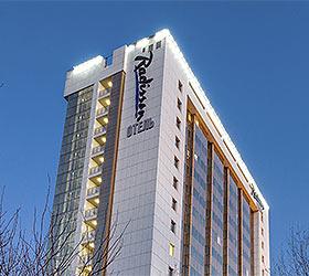Гостиница Рэдиссон Блу Белорусская