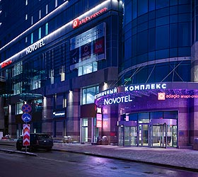 Гостиница Адажио Москва Киевская