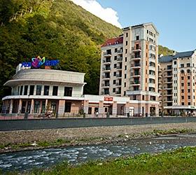 Гостиница АЗИМУТ Вальсет Роза Хутор