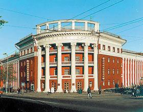 """...гостиницы  """"Северная """" в Москве."""