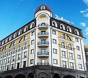 Гостиница Рэдиссон Блу Отель Киев