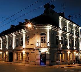 Гостиница Руднинку Вартай