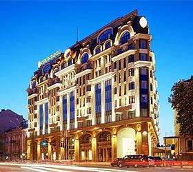 Гостиница ИнтерКонтиненталь Киев