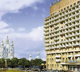 Гостиница Охтинская (Okhtinskaya Hotel)