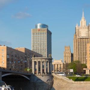 Hotel AZIMUT Hotel Smolenskaya Moscow