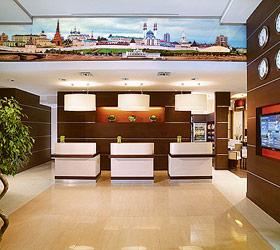 Гостиница Центр Отель Казань Кремль (б. Кортъярд Марриотт Казань Кремль)