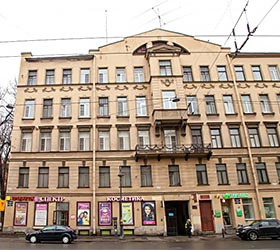 Гостиница Альтбург на Литейном