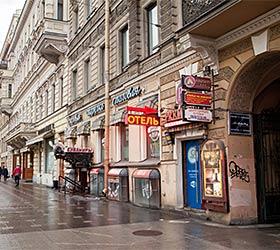 Гостиница Альтбург на Невском 53