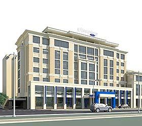 Гостиница Хэмптон бай Хилтон Астана Триумфальная Арка