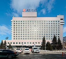 Гостиница АЗИМУТ Отель Сибирь