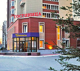 Hotel Barracuda on Mendeleev