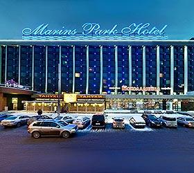 Гостиница Маринс Парк Отель Екатеринбург