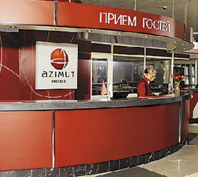 Гостиница АЗИМУТ Отель Санкт-Петербург