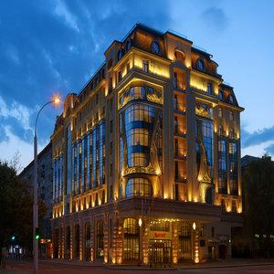 Гостиница Новосибирск Марриотт